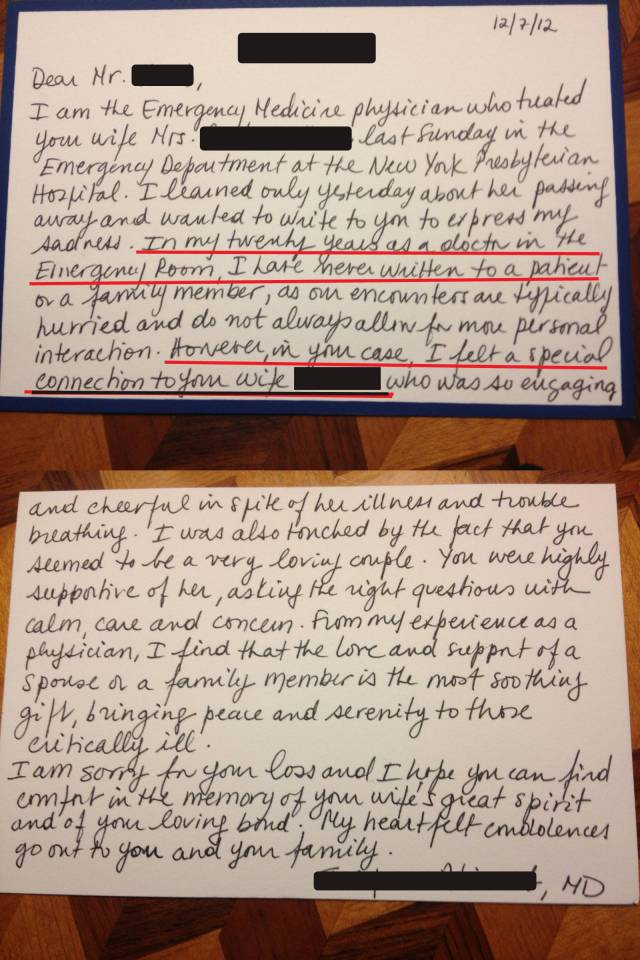 ED letter